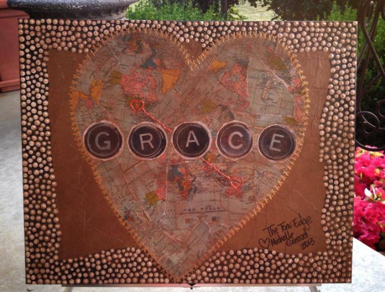 GRACE - My First International PIece